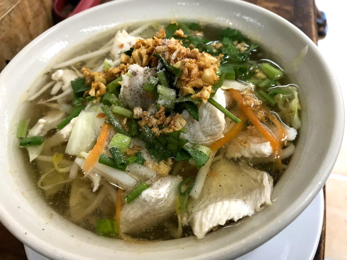 Thai Nudelsuppe Med Kylling Tones Matoppskrifter