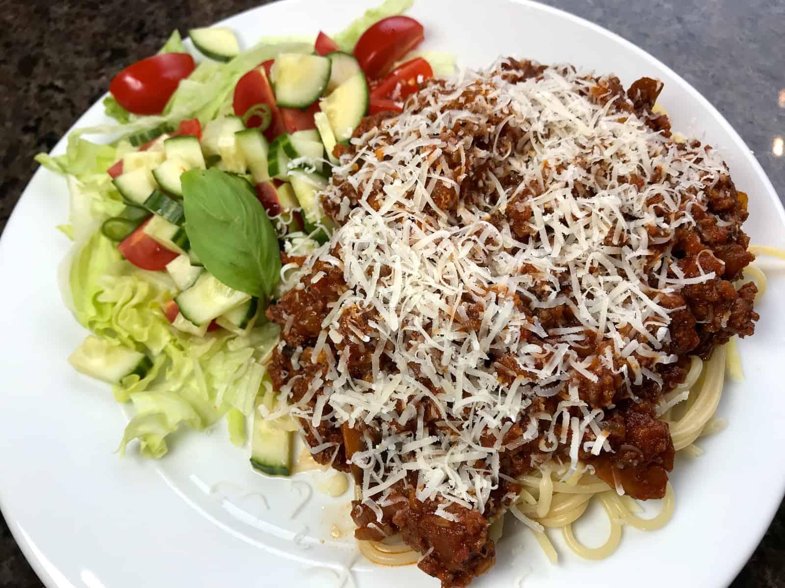 spagetti kjøttsaus på 30 minutter