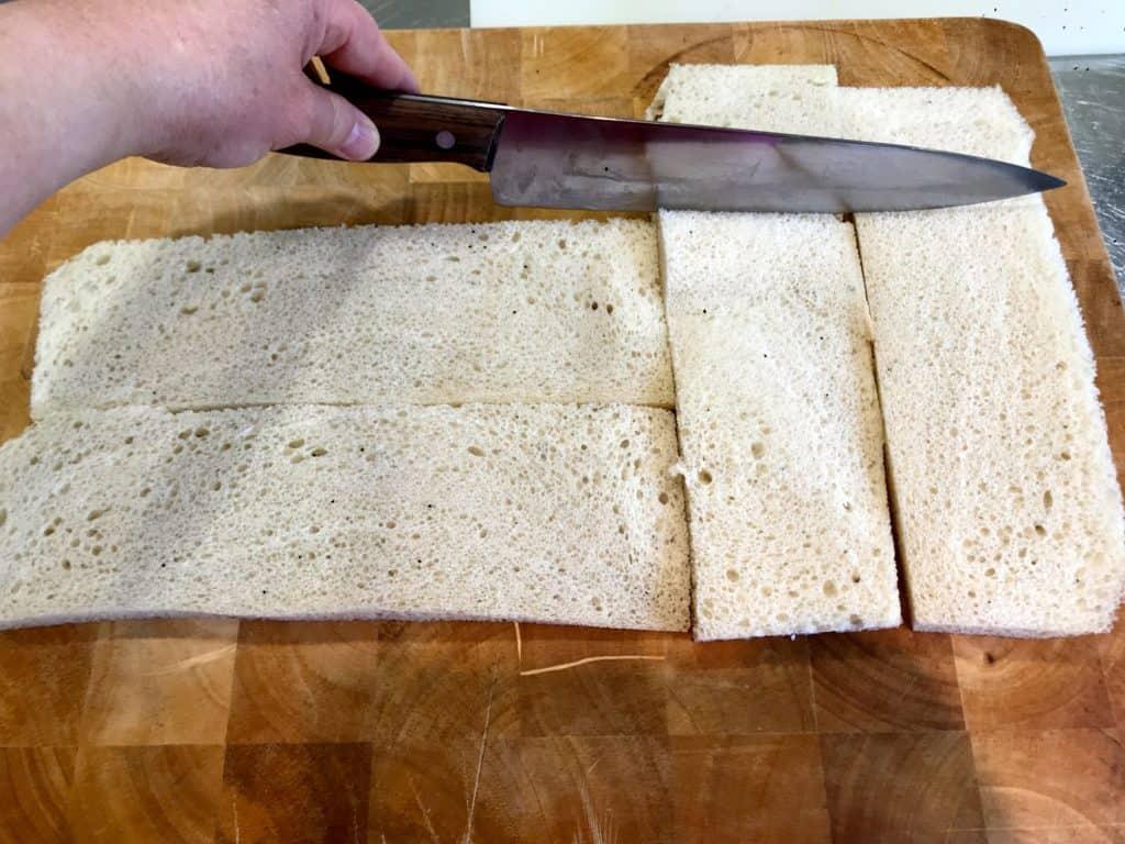 Smørgåstårta med røkelaks og reker